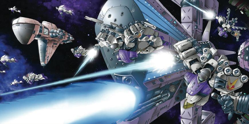 Our games - Jovian Wars - Jovian Fleet in action