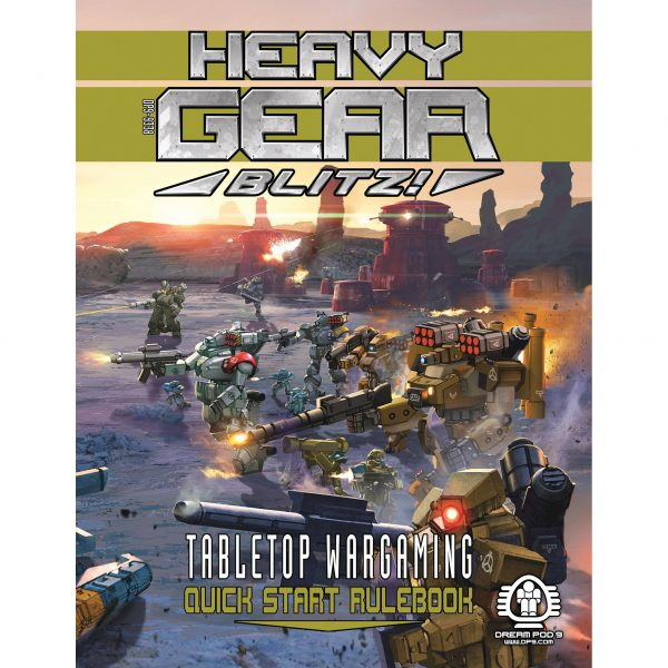 DP9-9338 Heavy Gear Blitz Quick Start Rulebook
