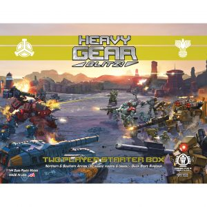DP9-9339 Heavy Gear Blitz! Two Player Starter Box