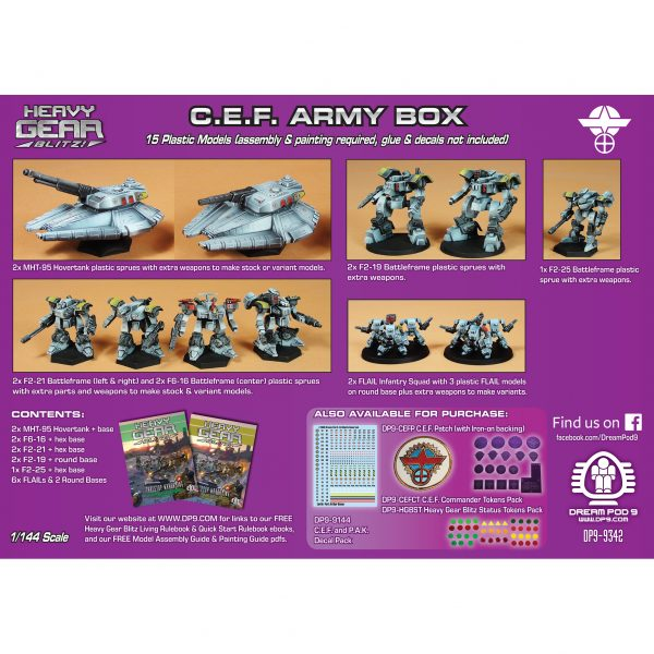 DP9-9342 CEF Army Box back