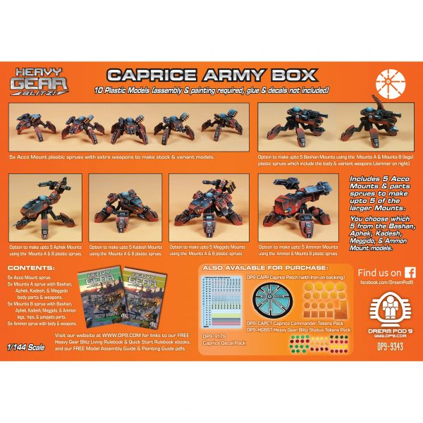 DP9-9343 Caprice Army Box back