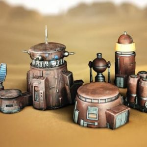 Badlands Outpost Terrain Set