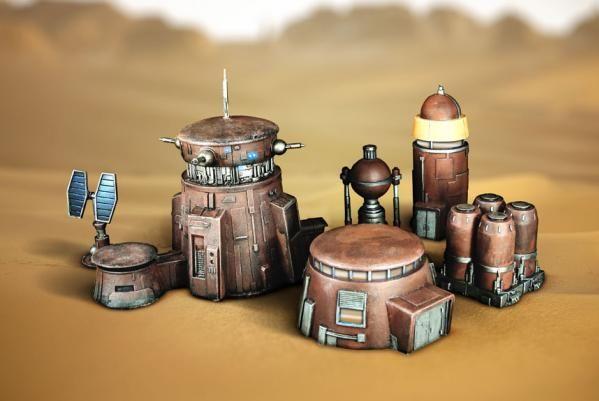 Badlands Outpost Terrain Set