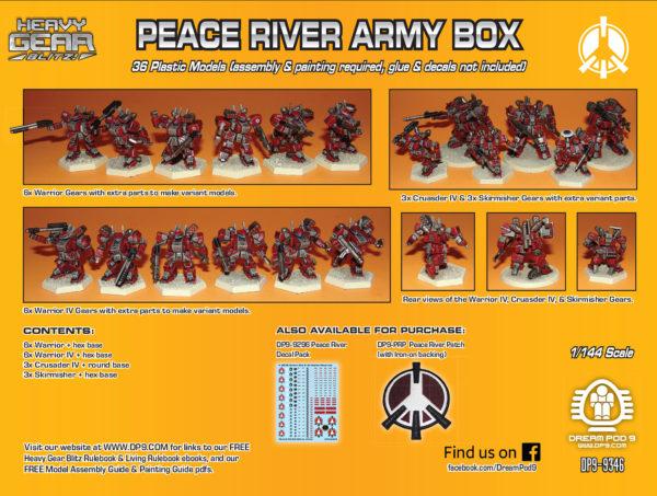 Peace River Army Box | Heavy Gear Blitz