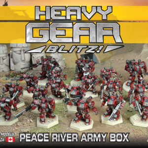 Peace River Army Box | Heavy Gear Blitz
