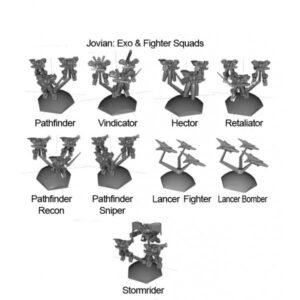 Jovian 9 Squads Pack | Jovian Wars