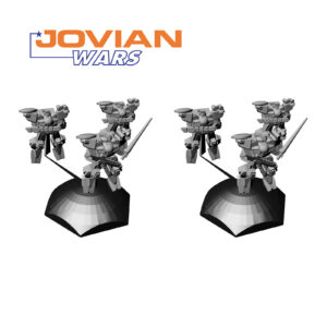 Pathfinder Exo-Armor Squad Two Pack 3D Models | Jovian Wars