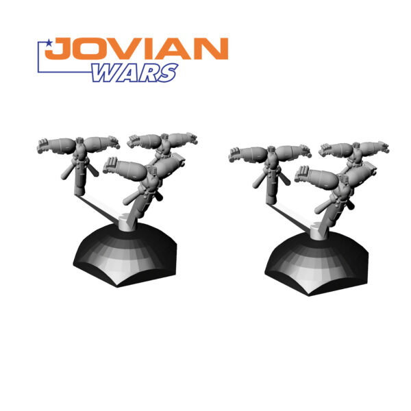 Syreen Squadron Two Pack 3D Models | Jovian Wars