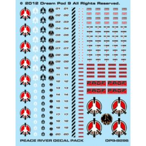Peace River Defence Force Decals Sheet | Heavy Gear Blitz!