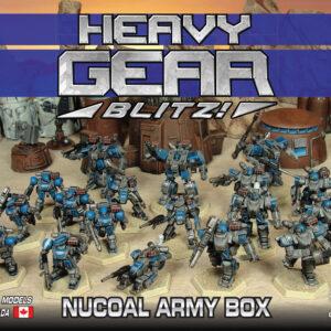 NuCoal Army Box | Heavy Gear Blitz
