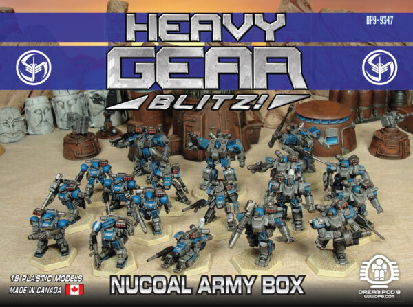 NuCoal Army Box | Heavy Gear Blitz