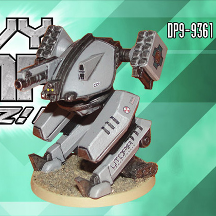 Utopian MAR-DK Drone | Heavy Gear Blitz!