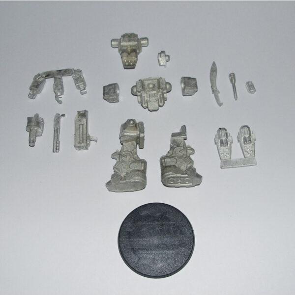 Arbalestier contents (standing version)