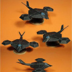 Black Wind Stealth VTOL | Heavy Gear Blitz!
