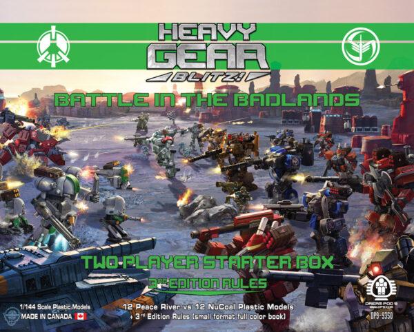 Battle in the Badlands: 2 Player Starter Box   Heavy Gear Blitz!