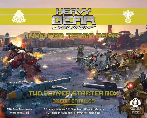 War for Terra Nova: 2 Player Starter Box   Heavy Gear Blitz!
