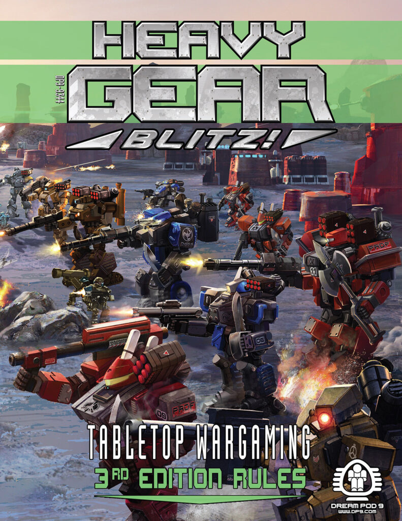 Heavy Gear Blitz 3rd Edition Rulebook