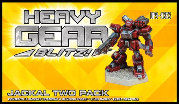 Jackal Two Pack packaging   Heavy Gear Blitz