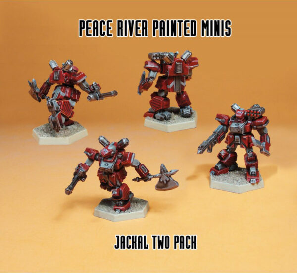 Jackal Two Pack   Heavy Gear Blitz