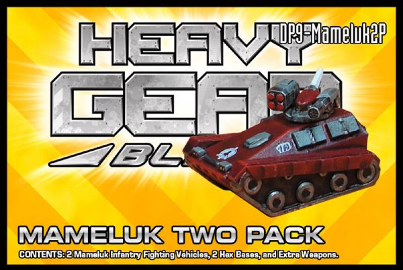 Mameluk Two Pack Packaging | Heavy Gear Blitz!