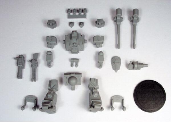 Uhlan Strider contents   Heavy Gear Blitz