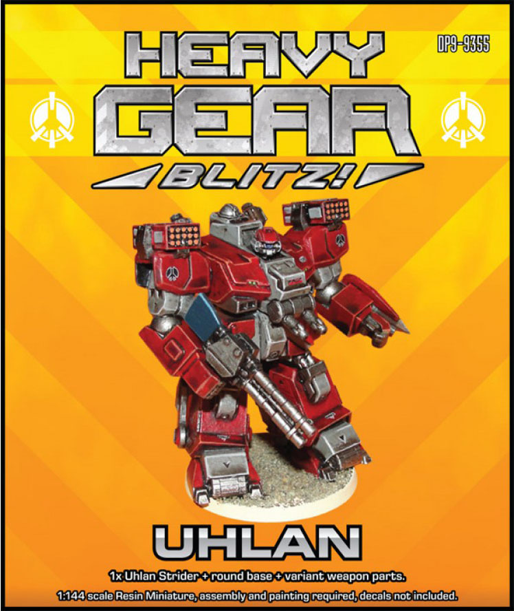 Uhlan Strider | Peace River, Heavy Gear Blitz!
