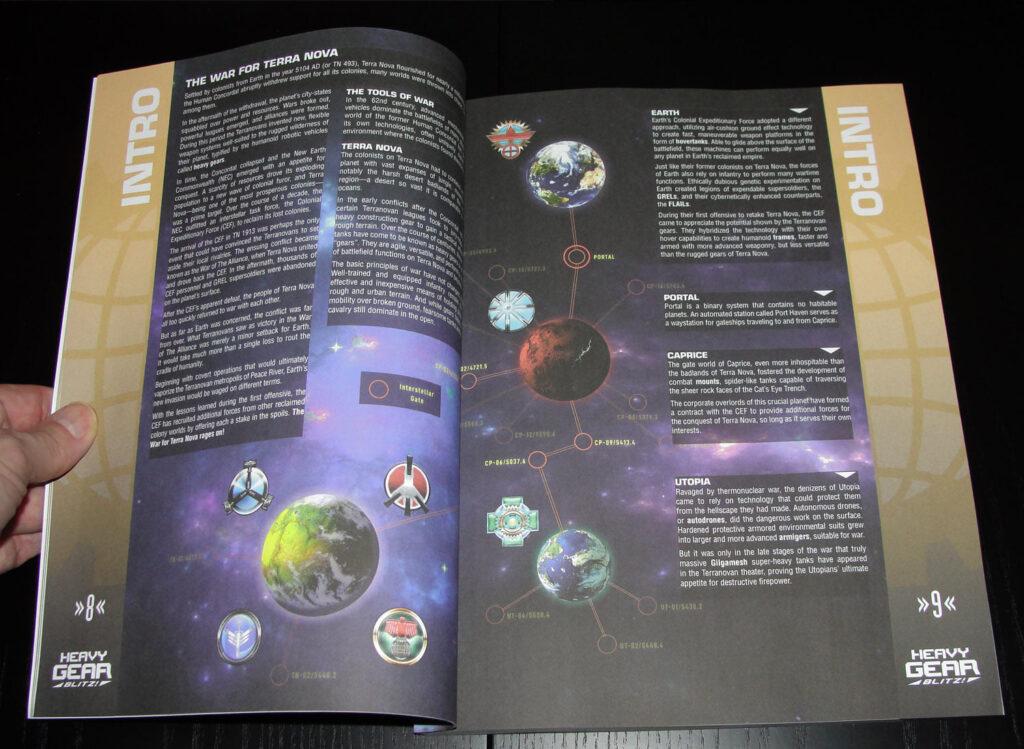 Rulebook Intro page spread