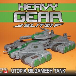 Gilgamesh Command Tank, Utopia   Heavy Gear Blitz!