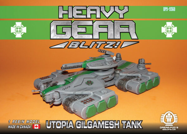 Gilgamesh Command Tank, Utopia | Heavy Gear Blitz!