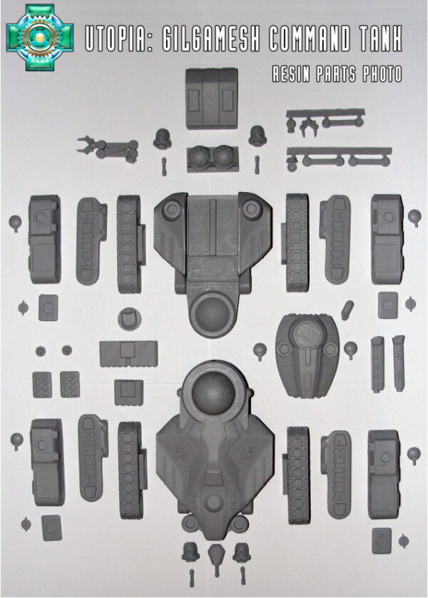 Gilgamesh Command Tank, Utopia contents | Heavy Gear Blitz!